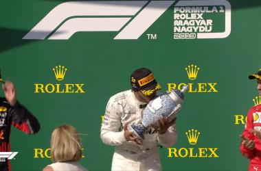 F1 - GP Ungheria - Hammer time Hamilton. Verstappen è battuto