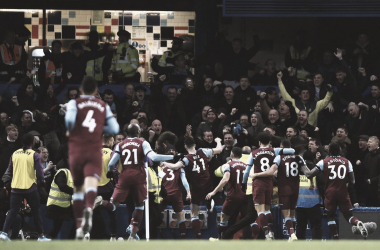 West Ham surpreende e vence o Chelsea noStanford Bridge