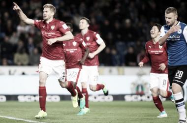 Terodde artilheiro isolado e Stuttgart mais perto do retorno destacam 2. Bundesliga