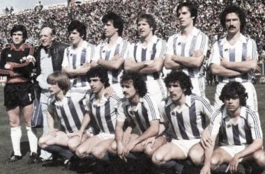 El mítico once de la Real Sociedad de los años 80 / Foto: Real Sociedad