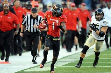 In Stefon Diggs, Maryland have one of the most dynamic players in the Big Ten. (Image: Sports Illustrated)