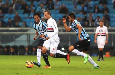 Último duelo terminou empatado na Arena Grêmio em 1 a 1 (Foto: Reprodução/Lancenet)