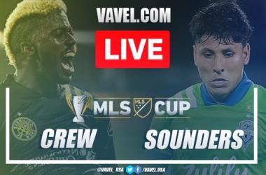 Columbus Crew vs Seattle Sounders: Live Stream and Updates (2-0)