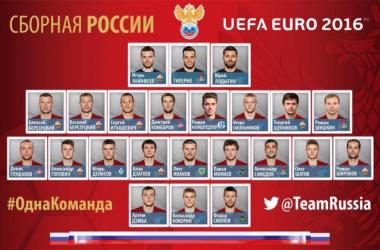 Euro 2016 : La liste des 23 russes