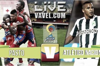 Resultado final: Pasto - Atlético Nacional (0-2)