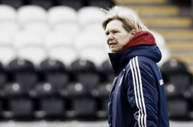 Anna Signeul has called up 20 players for Scotland's next two qualifiers. (Photo: The National Scot)