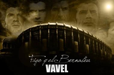 Figo y el Bernabéu