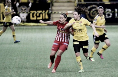 There were no goals in the highly-anticipated clash between LSK and Avaldsnes. (Photo: Thomas Brekke Sæteren)
