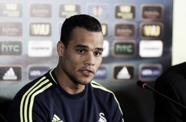 The sale of Michel Vorm, now at Spurs, has provoked a dispute between his two former clubs - Swansea and Utrecht. (Photo: Wales Online)
