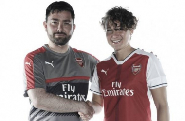 Josephine Henning has penned a new deal with Arsenal in one of several news bits today. (Photo: Arsenal LFC)