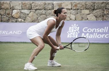 Jelena Janković in action in Mallorca/Photo Source: Mallorca Open