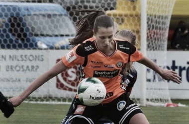 Nellie Karlsson's strike helped Kristianstad to a shock win last week - their first of the season. Can they build on that this week? (Photo: Bosse Nilsson)