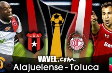 Alajuelense - Toluca en Concachampions 2014 (0-1)