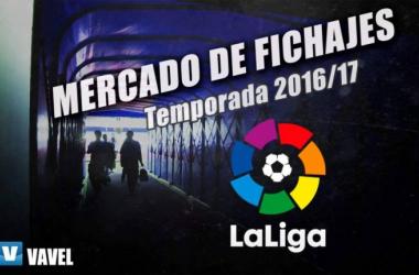 Mercado de fichajes de La Liga 2016-17