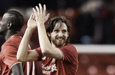Could Joe Allen return to the Liberty Stadium? (Photo: Sky Sports)