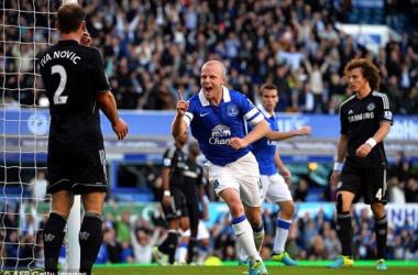 Everton suporta pressão e vence o Chelsea no Goodison Park