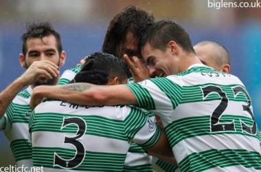 Celtic vence e segue cada vez mais líder na Scottish Premier League