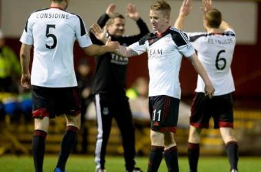 Celtic tropeça em casa frente ao Dundee e vê rivais se aproximarem