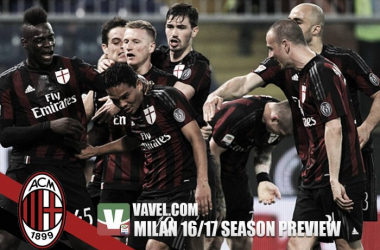 Milan 2016/17 Season Preview: Beginning of a revolution