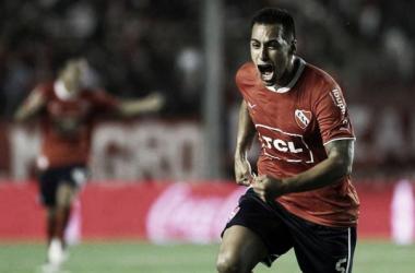 El Toro gritó su primer gol en primera y le dio la victoria (Foto: Infiernorojo.com)