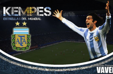Estrellas de los Mundiales: Mario Alberto Kempes