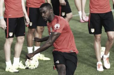 Atlético de Madrid volvió a entrenamientos sin Jackson