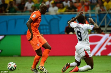 Joel Campbell in action.