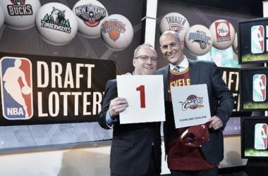 Los Cavaliers se vuelven a llevar el nº1 del draft