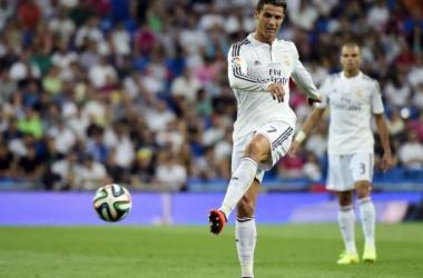 Cristiano se retiró tras el descanso | Foto: AFP.