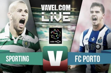 Resultado Sporting x Porto no Clássico Liga NOS (2-1)