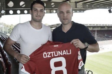 Levin Öztunali erhält in Mainz die Rückennummer 8. | Quelle: 1. FSV Mainz 05