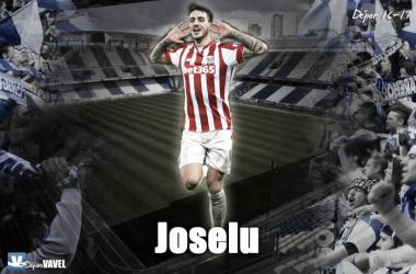 Joselu, nuevo delantero blanquiazul