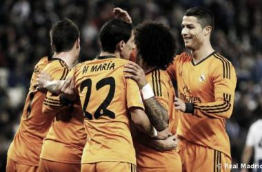 Mínima ventaja para un Madrid que buscará las 'semis' en el Bernabéu