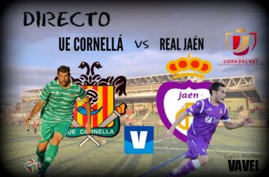 Resultado Cornellá - Real Jaén en Copa del Rey (0-0)