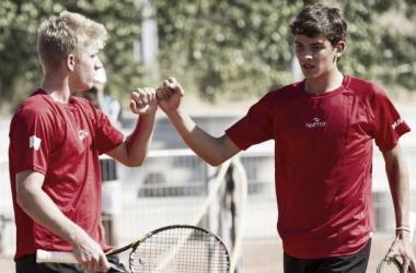 España cae con honor en su primer enfrentamiento de la Copa Davis Junior