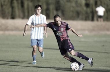 Imagen del partido amistoso de este verano entre el Málaga y el Real Valladolid / Fuente: Málaga CF