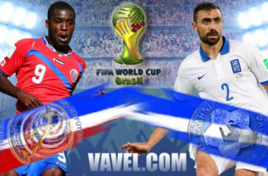 Costa Rica - Greece: Text Commentary and Football Scores of 2014 FIFA World Cup Round of 16