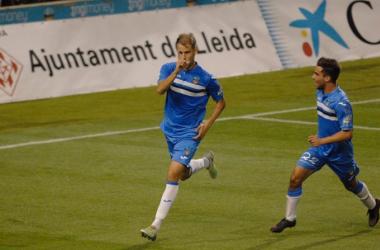 El Lleida supera con sufrimiento al Atlético Saguntino