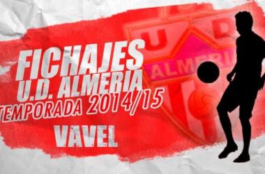Fichajes de la UD Almería temporada 2014/2015