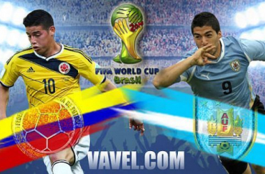 Colômbia x Uruguai, Copa do Mundo