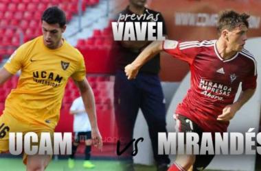 Previa UCAM Murcia - UD Mirandés: tres puntos para coquetear con la zona alta