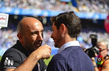 """Víctor Sánchez: """"No hemos renunciado a la victoria en ningún momento"""""""