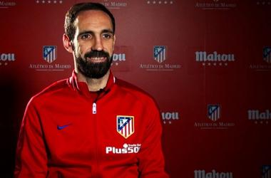 """Juanfran: """"El Atlético es el club de mi vida"""""""