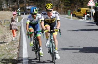 Chaves y Kruijswijk a punt oestuvieron de llevarse el Giro | Fuente: Team Sky