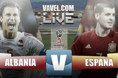 España se pone práctica para ganar a Albania (0-2)