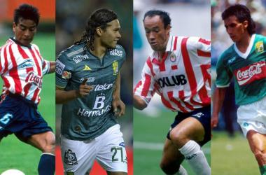 Jugadores más destacados que visiteron la camiesta rojiblanca y Esmeralda