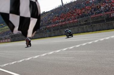 Bastianini claims his first win of the Moto3 season in Motegi - www.gresiniracing.com