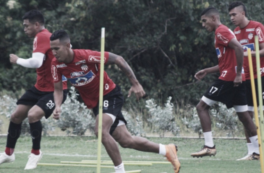 Equipe de Barranquilla construi vantagem jogo de ida (Foto: Didier Cano/ Junior Barranquilla)