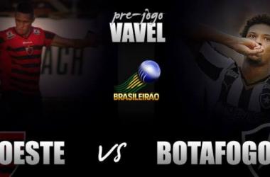 Botafogo visita Oeste em busca da vitória para se firmar na liderança da Série B
