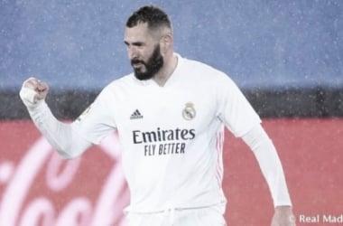 """Benzema: """"Era muy importante para seguir con nuestro objetivo"""""""